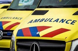 Meerdere auto's botsen op A7 bij Medemblik, drie gewonden