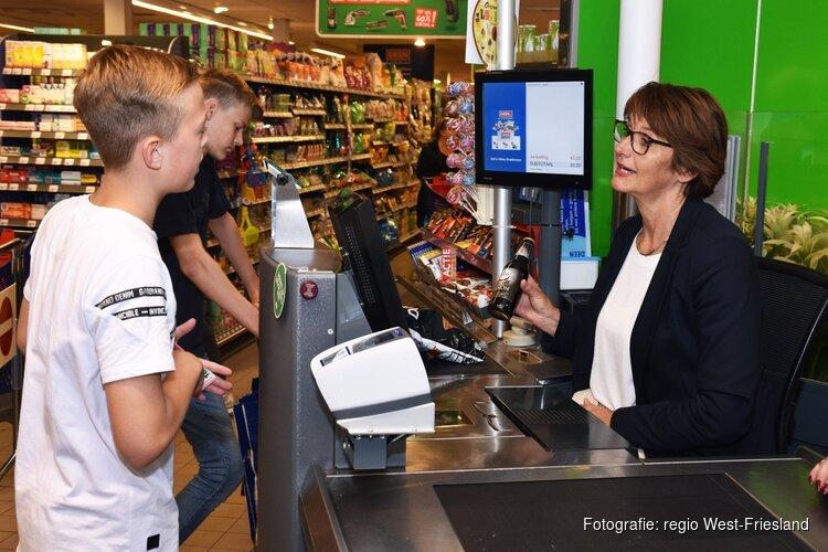 Wethouders raden leeftijd bij verkoop alcohol aan de kassa