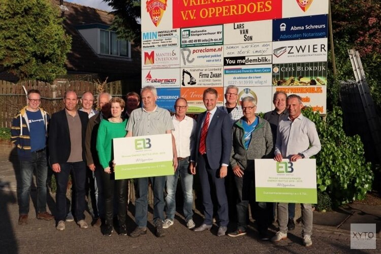VV Opperdoes winnaar ENERGY BATTLE