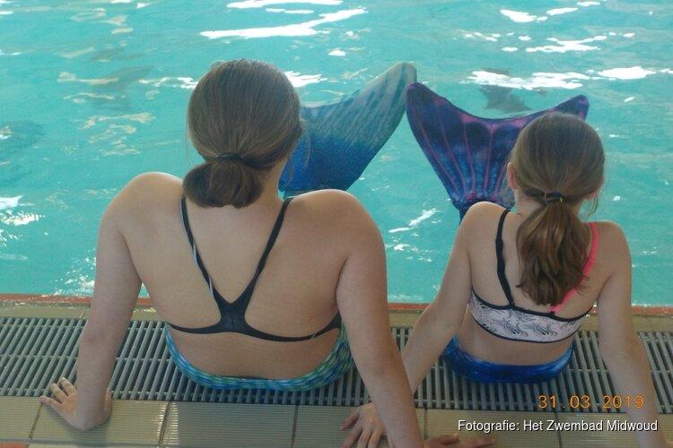 Zeemeermin-zwemmen