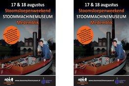 Authentieke Stoomsloepen bij Stoommachinemuseum!