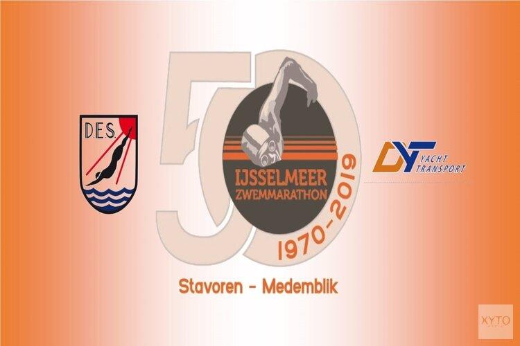 Maarten van de Weijden neemt alsnog deel aan de zwemmarathon Stavoren- Medemblik