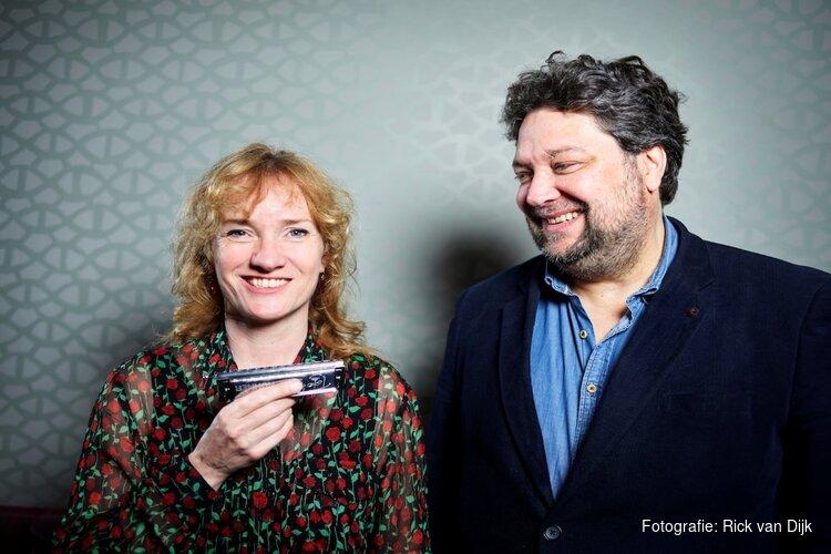 Mike Boddé en Hermine Deurloo 30 november in 't Groene Kerkje te Lambertschaag
