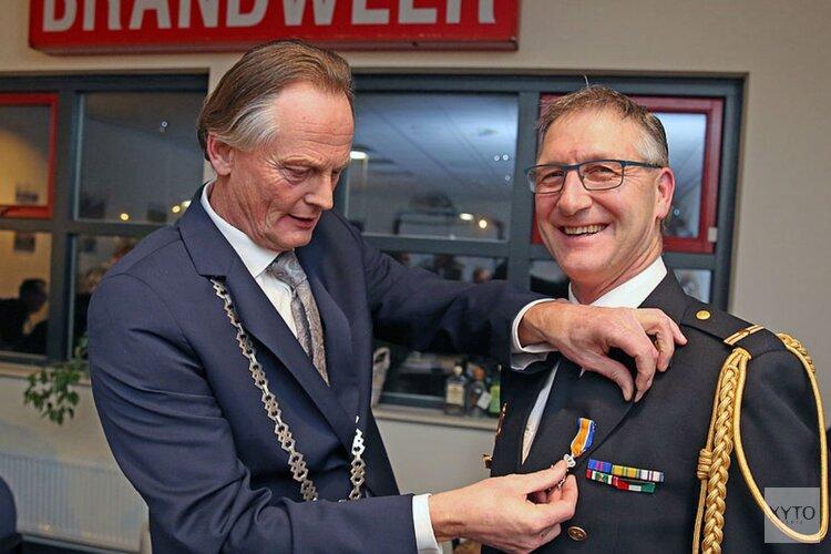 Koninklijke onderscheiding voor brandweervrijwilliger Nibbixwoud
