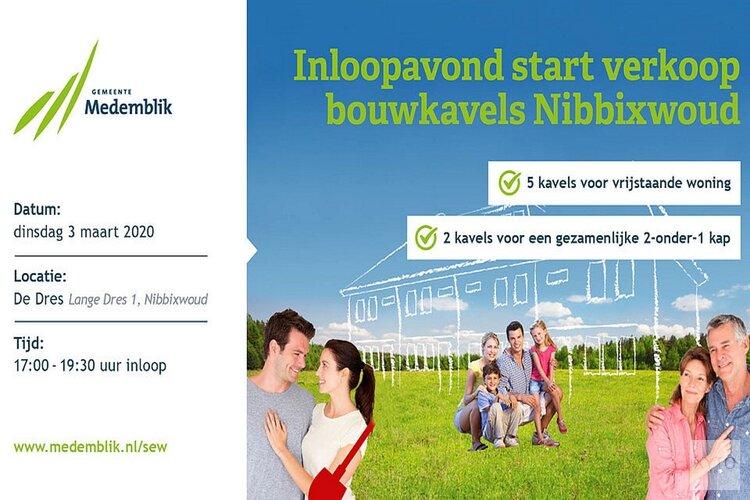 Start verkoop kavels voormalig SEW-terrein Nibbixwoud