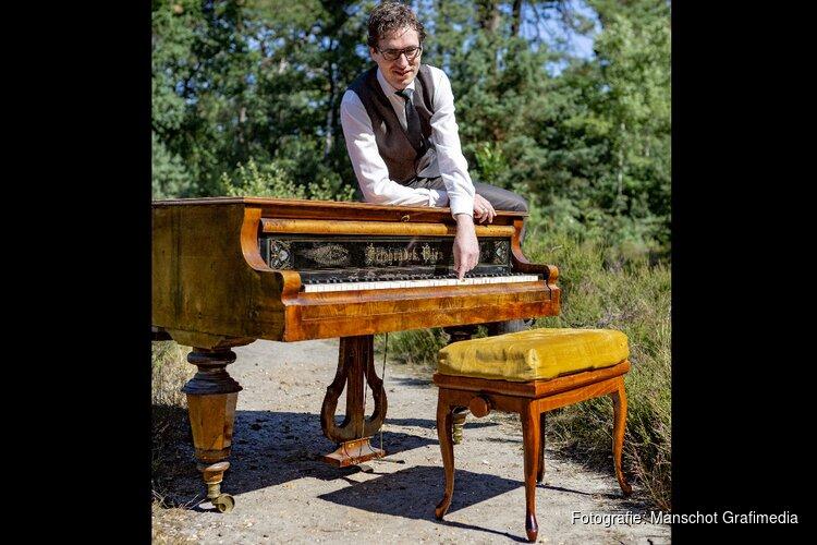 Pianoconcert Wouter Harbers in Protestantse kerk Wognum