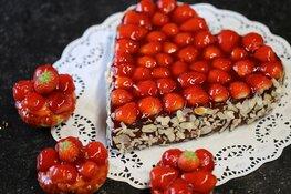 Verras de allerliefste moeder met een taart