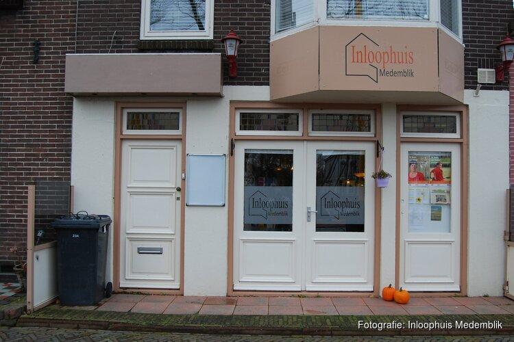 Inloophuis Medemblik  'Nog even niet knuffelen' Maar wel open!