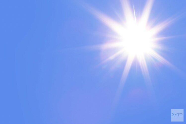 Volop zon, vanaf dinsdag tropisch