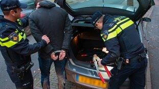 Twee mannen aangehouden inbraak winkel Wervershoof