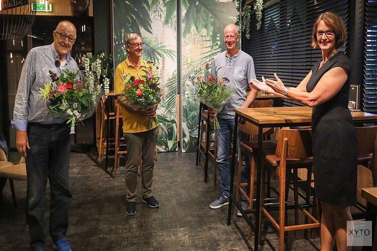 Waarderingsspeld voor bestuursleden Stichting Sport en Cultuur Midwoud-Oostwoud