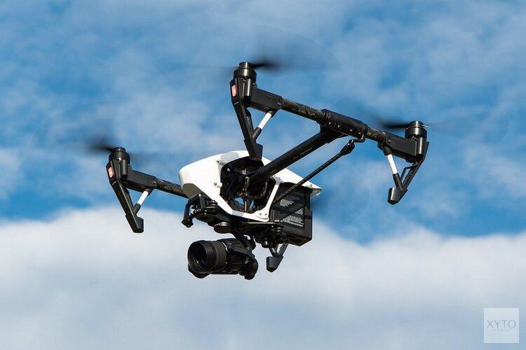 Dronevluchten over het DEK-terrein
