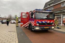 Brand bij slagerij in Wognum