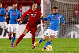 Gemiste strafschop tegen Napoli kan AZ duur komen te staan